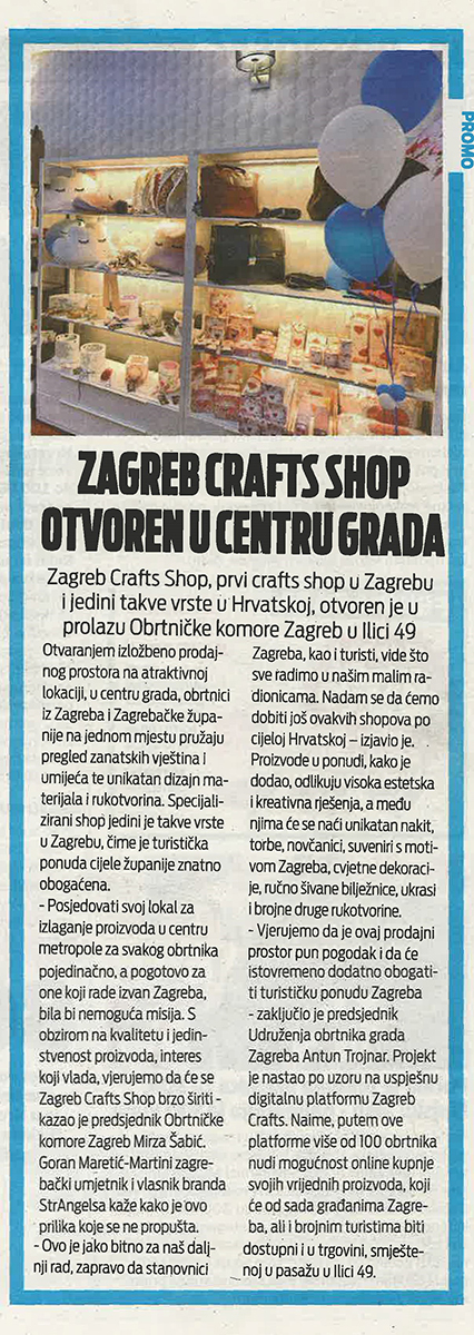 Zagreb Crafts Shop u 24sata