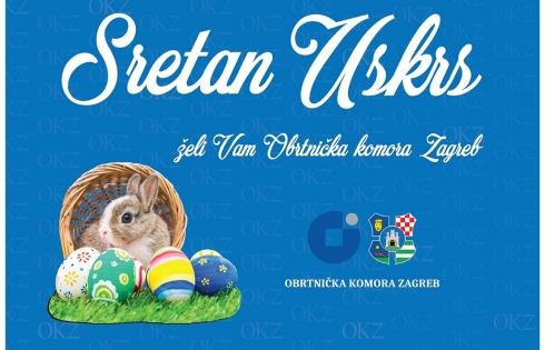 Sretan Uskrs želi Vam Obrtnička komora Zagreb!